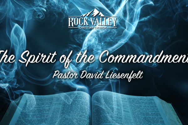 The Spirit of the Commandments