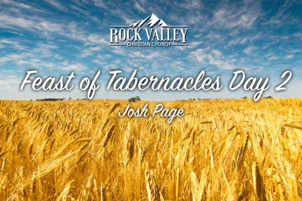 Feast of Tabernacles 2018 Day 2