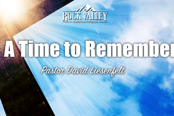 A Time to Remember | Keeping the Sabbath Holy