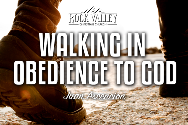 Walking in obedience to God