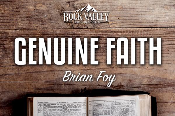 Geniune Faith