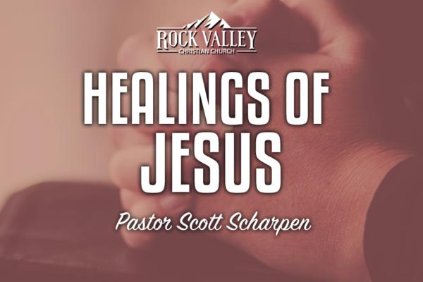 Healings of Jesus